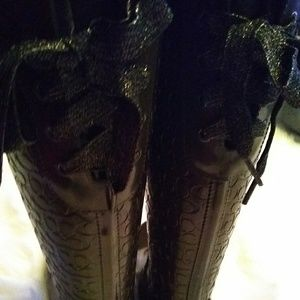 Coach Shoes - COACH brown RAINBOOTS 9B
